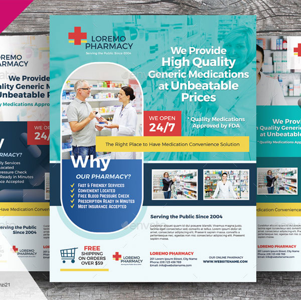 Pharmacy Flyer Download