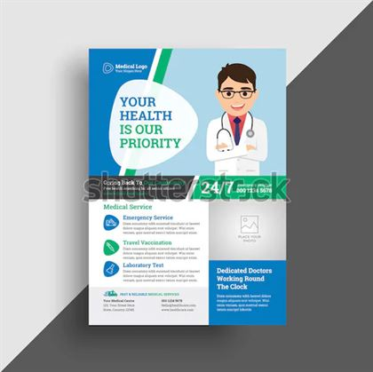 Pharmacy Medical Flyer Template
