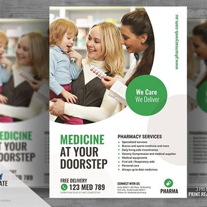 Pharmacy Medicine Flyer