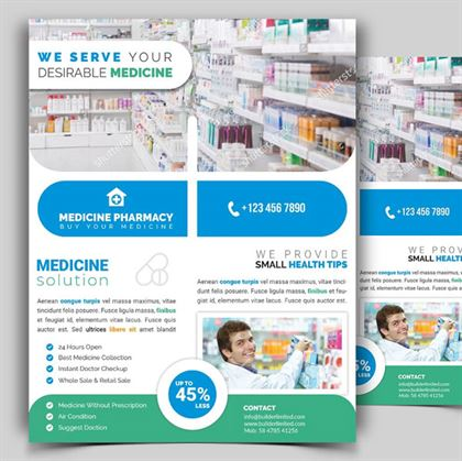 Pharmacy Sample Flyer Template