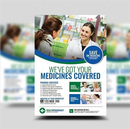 Pharmacy Services Flyer