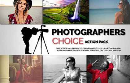 Photographers Choice Action's Pack
