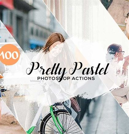 Pretty Pastel Photoshop Actions