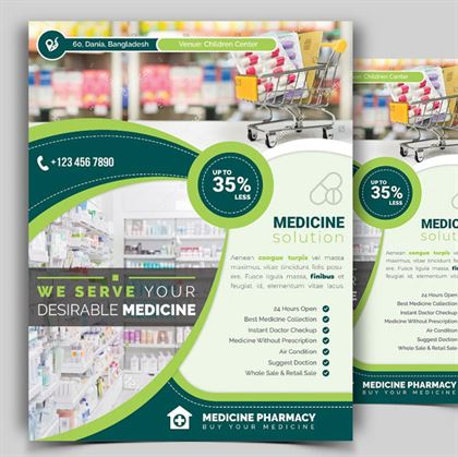 Printable Pharmacy Flyer Template