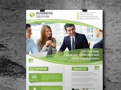 Printable Solution Flyer Templates