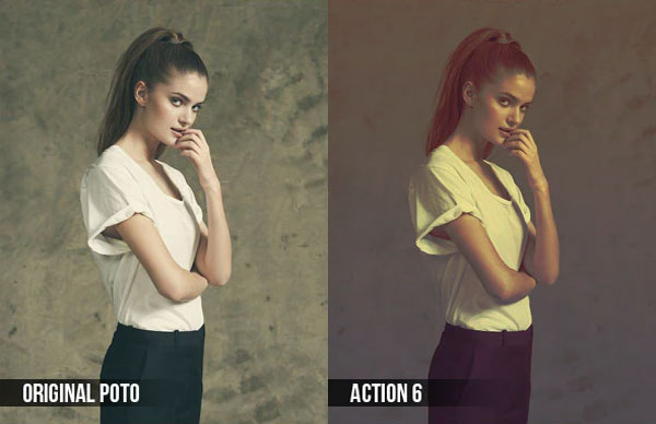 Professional Cross Processing Photo Actions