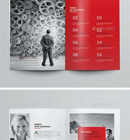 Professional Company Brochure Template
