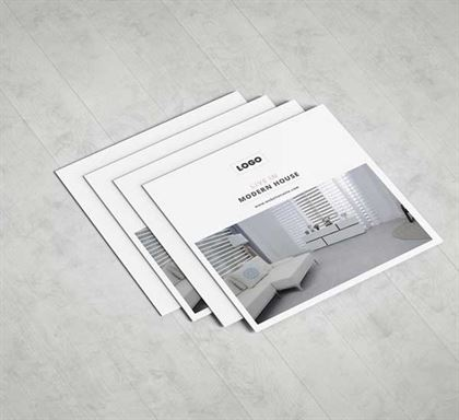 Real Estate Company Brochure Template