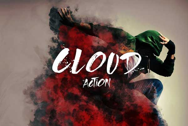 Realistic Effect Cloud Photoshop Action