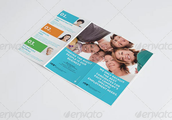 Recruiting Agency Trifold Brochure