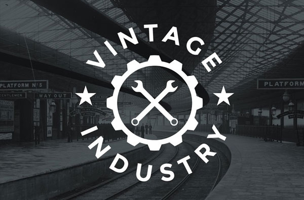 Retro Industrial Logos