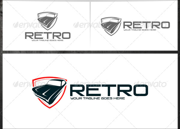 Retro Logo Templates