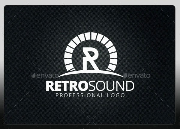 Retro Sound Logo Template
