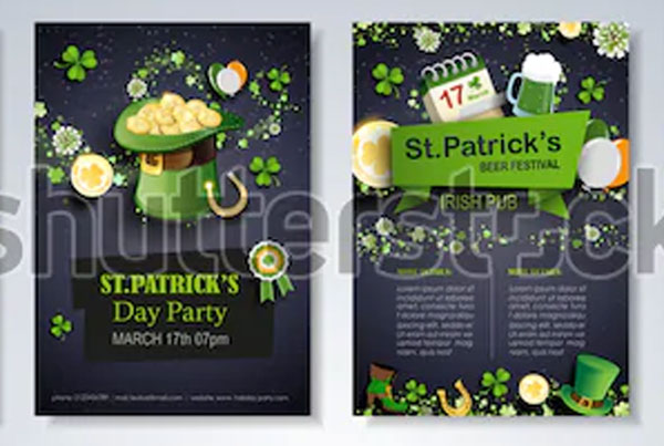 Saint Patrick's Day Party Flyer Template