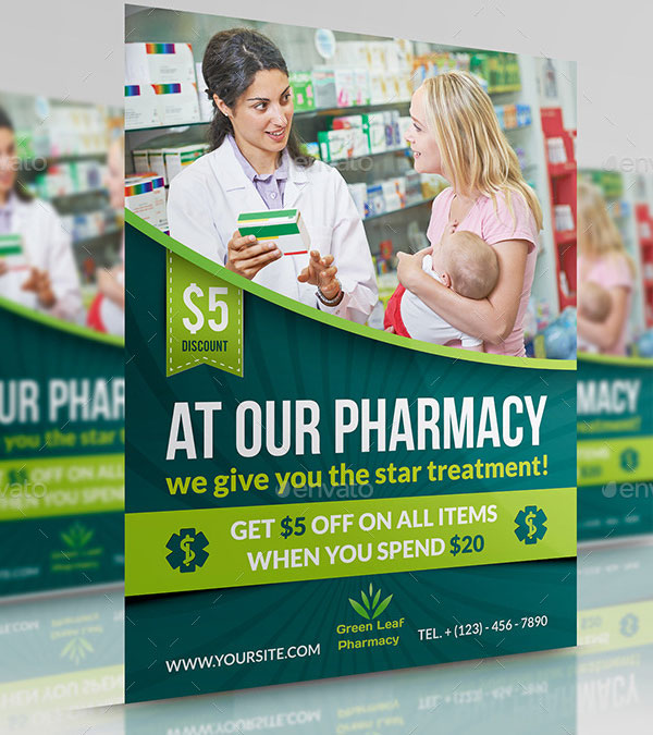 Sample Pharmacy Flyer Template