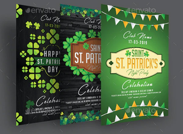 Sample St Patricks Day Flyer Bundle