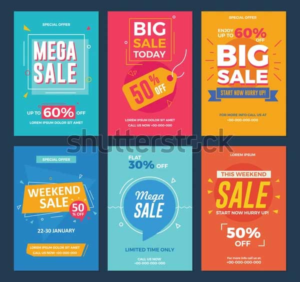 Season Discount Offers Flyer Template