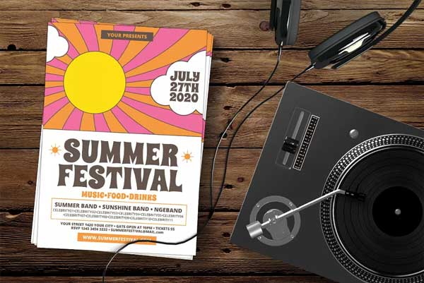 Seasonal Festival Flyer