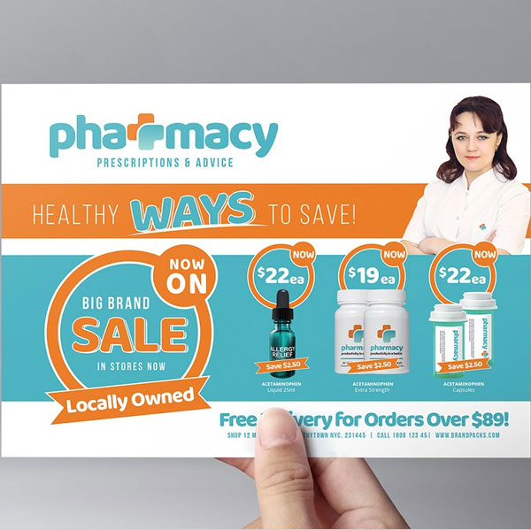 Simple Pharmacy Flyer Template