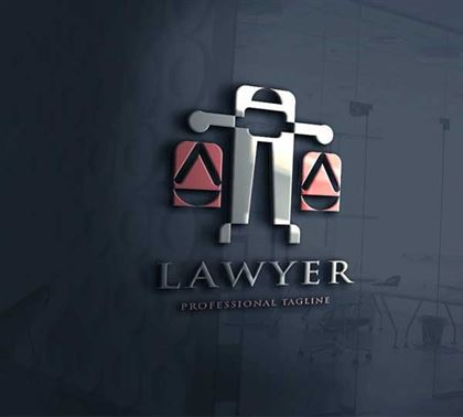 Simple Lawyer Logo Design Templates