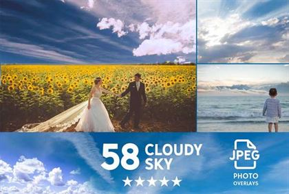 Sky Photoshop overlays