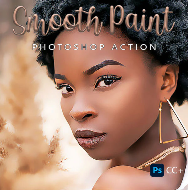Smooth Paint Photoshop Actions