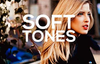Soft Tones PSD Actions