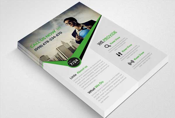 Solutions Store Flyer Template
