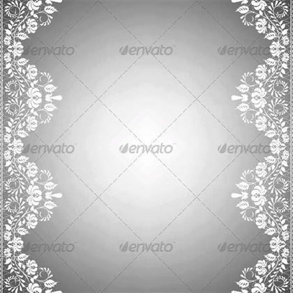 Template for Wedding Invitation PSD Greeting Card