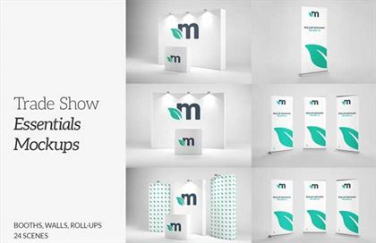 Trade Show Essentials Mockups