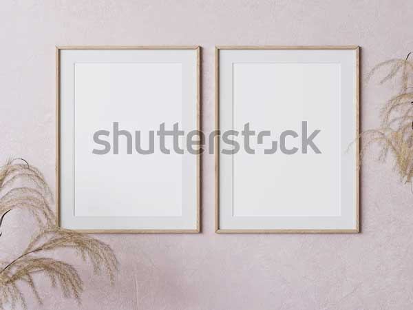Two Painting Presentation Mockups