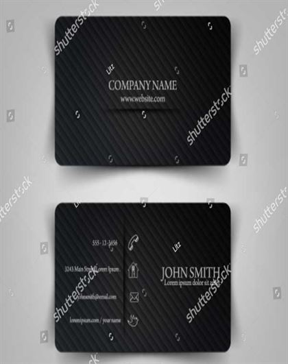 Vector Illustration Business Card Template