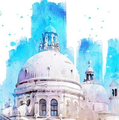 Watercolor Painting Photoshop Action Templates