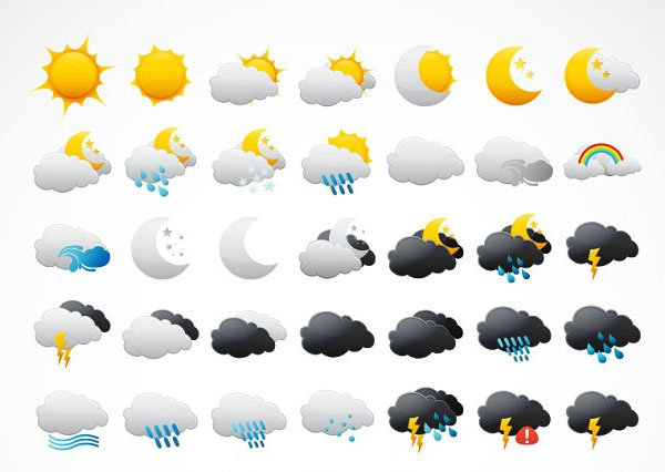 Weather Icons Template