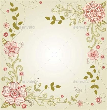 Wedding Vector, EPS Greeting Card Template