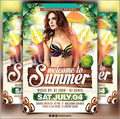Welcome to Summer Flyer Template