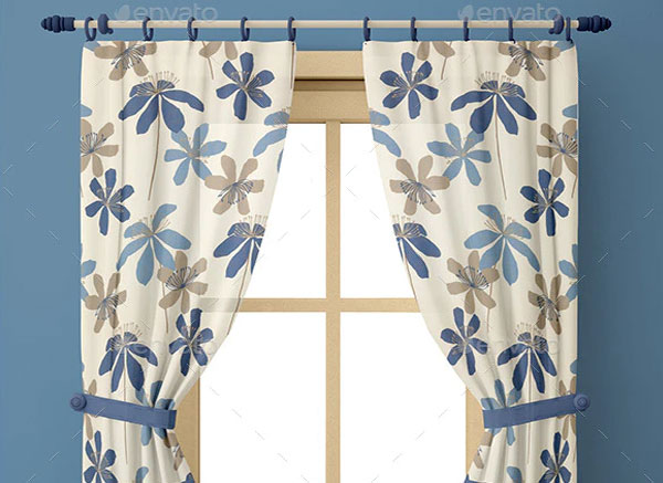 Window Curtain Mock-up