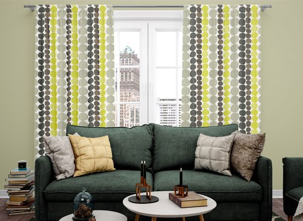 Window Curtains Mockup Set