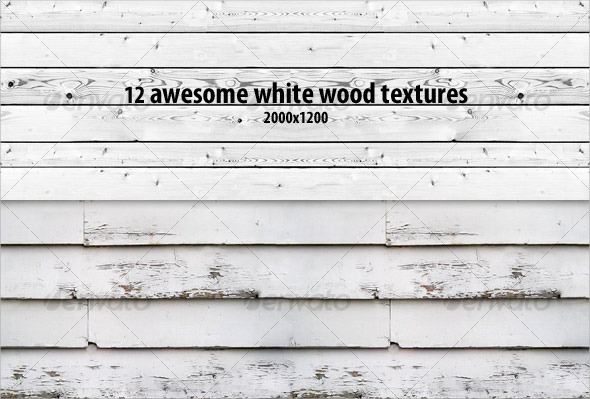 12 Awesome White Wood Texture Pack