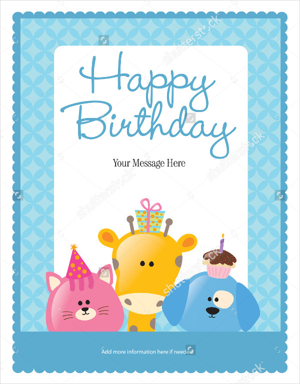 Funny Birthday Flyer & Poster Template