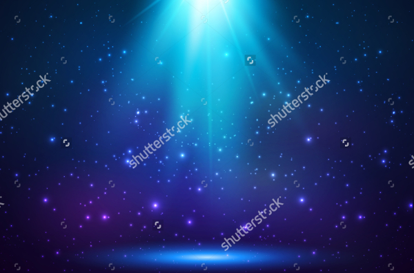Spotlight Blue Shining Backgrounds