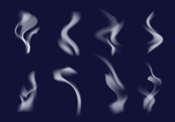 Free Smoke Brush Vector