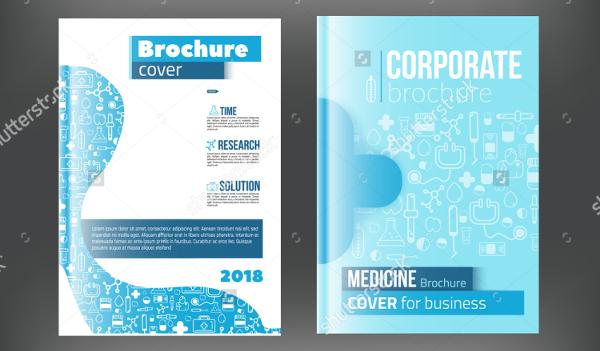 Corporate Medical Brochure templates