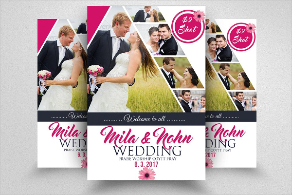 Elegant Wedding Flyer Templates