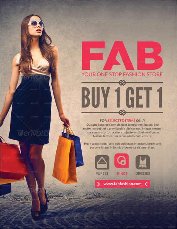 23 fashion sale flyer free premium psd vector png for Fashion flyers templates for free