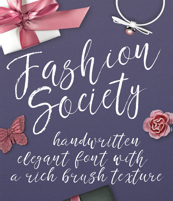 Fashion Soicety Handwritten Font