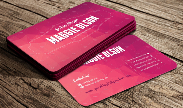Women business card image collections business card template 23 fashion business card free premium download fashion blogger business card template colourmoves image collections cheaphphosting