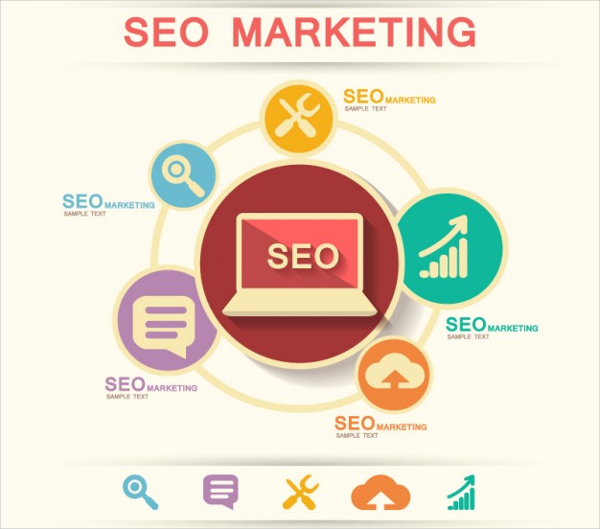 Free SEO Marketing Infographic Icons