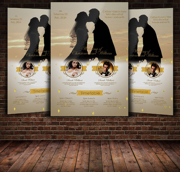Awesome Wedding Flyer Template