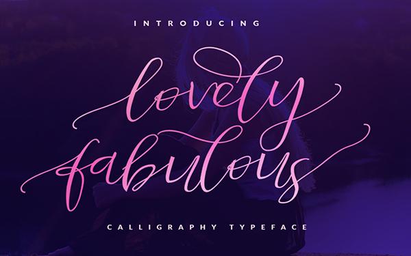 Lovely Romantic Fabulous Font